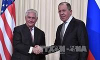 Menlu Rusia dan AS melakukan pembicaraan telepon tentang hubungan bilateral dan masalah-masalah internasional