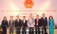 Aktivitas memperingati ultah ke-72 Hari Nasional Vietnam ((2 September) di Malaysia dan Tanzania
