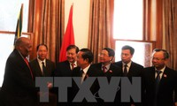 Delegasi tingkat tinggi MN Vietnam mengakhiri dengan baik kunjungan kerja di Afrika Selatan