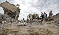 Pasukan-pasukan yang berbaku tembak telah menarik diri keluar dari Ibukota Yaman