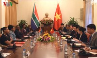 Deputi PM, Menlu Vietnam, Pham Binh Minh melakukan pembicaraan dengan Menteri Luar Negeri dan Kerjasama Republik Afrika Selatan