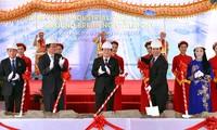 Memulai pembangunan Zona Industri Thang Long-Vinh Phuc dengan modal investasi Jepang