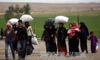 AS meningkatkan bantuan kemanusiaan kepada warga Suriah