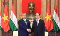 Presiden Vietnam, Tran Dai Quang menerima PM Hungaria, Orban Viktor