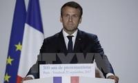 Presiden Perancis mengumumkan Visi bagi masa depan Eropa