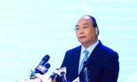 """PM Vietnam, Nguyen Xuan Phuc memimpin Konferensi: """"Perkembangan yang berkesinambungan daerah dataran rendah sungai Mekong untuk beradaptasi dengan perubahan iklim"""""""