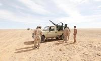 IS membentuk tentara di daerah gurun pasir Libia
