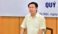 Deputi PM Vietnam, Vuong Dinh Hue memimpin Sidang Dewan Konsultasi Kebijakan Keuangan dan Moneter Nasional