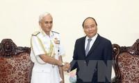 Hubungan antara Tentara Vietnam-India sedang berkembang baik
