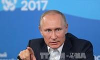 Presiden Rusia menyerukan supaya memperkuat perlawanan terhadap ekstrimisme di jaring internet