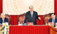 PM Vietnam, Nguyen Xuan Phuc melakukan temu kerja dengan Inspektorat Pemerintah