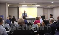Lokakarya tentang potensi budidaya perikanan yang dikaitkan dengan metode akuaponik di Australia dan Australia