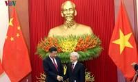 Pers Tiongkok meliput berita secara menonjol tentang kunjungan yang dilakukan Sekjen, Presiden Tiongkok, Xi Jinping di Vietnam