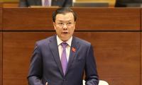 MN Vietnam memulai acara interpelasi dan jawaban interpelasi di MN