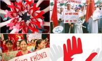 Kota Hanoi menggelarkan banyak aktivitas praksis dalam Bulan Aksi pencegahan dan pemberantasan penyakit HIV/AIDS