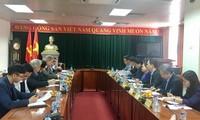 Konfederasi Serikat Pekerja Vietnam melakukan temu kerja dengan Federasi Serikat Buruh Austria