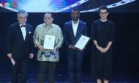 Upacara penutupan dan pemberian penghargaan Festival Film Vietnam yang ke-20