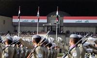 Irak mengadakan parade militer merayakan kemenangan atas IS