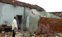 Uni Eropa memberikan bantuan sebesar  200.000 Euro kepada para korban taufan Damrey di Vietnam