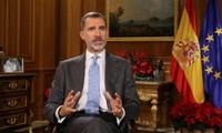 Raja Spanyol menyerukan rekonsiliasi nasional