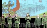 Upacara memperingati Hari Berdirinya Tentara Rakyat Vietnam di Federasi Rusia