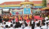 Memperingati ultah ke-39 Kemenangan atas genosida Pol Pot di Kamboja