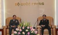 Vietnam dan Jepang mendorong kerjasama di bidang pertahanan