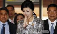 Thailand membenarkan bahwa Yingluck Shinawatra sedang tinggal di Inggris