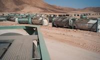 Libia memusnahkan jumlah senjata kimia terakhir