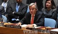 Sekjen PBB menekankan prioritas-prioritas aksi pada tahun 2018