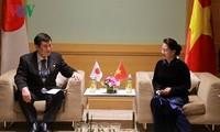 Ketua MN Vietnam, Ibu Nguyen Thi Kim Ngan menerima Kepala delegasi legislator Jepang
