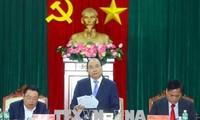 PM Vietnam, Nguyen Xuan Phuc melakukan temu kerja atas pempinan teras Provinsi Phu Yen