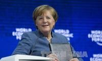 """Forum Davos 2018: Jerman menekankan bahwa proteksionisme """"bukan merupakan jawaban"""" bagi masalah-masalah internasional"""