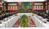 Menteri Keamanan Publik Vietnam, To Lam melakukan kunjungan kerja di Kamboja