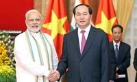 India selalu merupakan sahabat setia dan mitra perkembangan bagi Vietnam