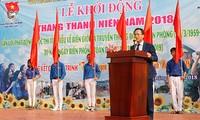 Daerah-daerah di Vietnam mengawali Bulan Pemuda tahun 2018