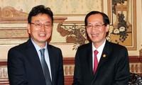 Merealisasikan perjanjian kerjasama antara Kota Ho Chi Minh dan Provinsi Gyeongsangbuk, Republik Korea