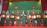 Pemberian penghargaan bagi karya-karya tentang 50 tahun hubungan Vietnam-Kamboja