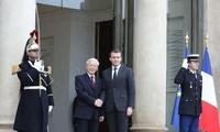Pers Perancis memberikan penilaian positif terhadap kunjungan Sekjen KS PKV Nguyen Phu Trong di Perancis