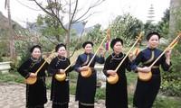 Festival seni menyanyikan lagu rakyat Then dan instrumen musik Tinh yang khas