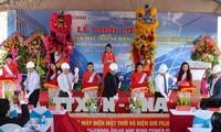 Mulai membangun proyek listrik tenaga surya dan listrik tenaga bayu 100 MW di Provinsi Binh Dinh