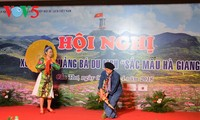 Memperkenalkan warna-warni Provinsi Ha Giang kepada badan-badan usaha di daerah dataran rendah Sungai Mekong