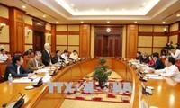 Sidang Badan Sekretariat KS PKV dihadiri oleh Sekjen KS PKV, Nguyen Phu Trong