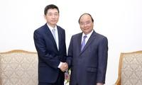 PM Vietnam, Nguyen Xuan Phuc menerima Dubes Republik Korea sehubungan dengan akhir masa baktinya