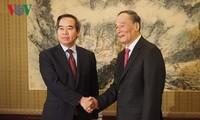 Delegasi Partai Komunis Vietnam melakukan kunjungan kerja di Tiongkok