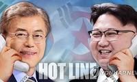 Republik Korea dan RDRK membentuk hubungan hotline langsung antar pimpinan dua bagian negeri-Korea
