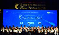 Gelar Bintang Khue 2018 memuliakan 73 produk dan jasa teknologi informasi