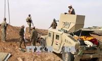 Irak melakukan serangan udara terhadap kaum pembangkang IS di Suriah
