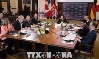 Pembukaan Konferensi Menlu dan Menteri Keamanan G7