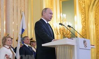 Presiden Vladimir Putin menetapkan tugas strategis dalam mengembangkan negeri Rusia
